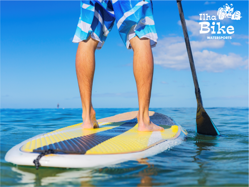 Stand-up Paddle (1 hora), Caiaque Duplo (1 hora) ou Aquacycle (30 min) na Lagoa